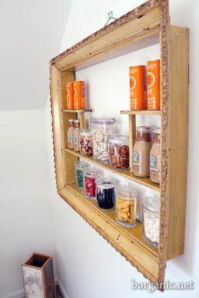 DIY guest welcome basket frame