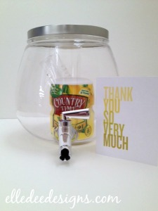 Lemonade Hostess Gift