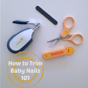How to Trim Baby Nails