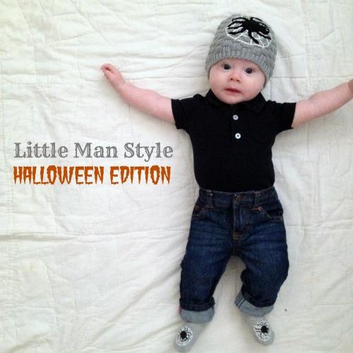 little man style halloween