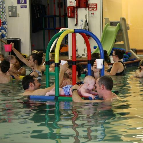 Emler baby swim class buddies