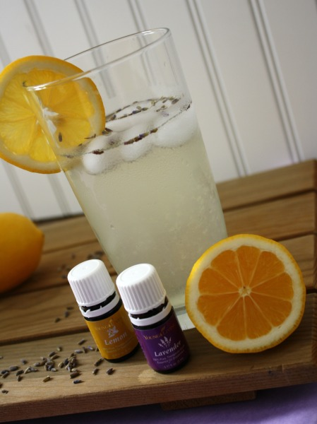 Lavender Lemonade with Young Living Essential Oils // Life Anchored