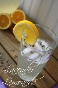 Homemade Lavender Lemonade with Essential Oils