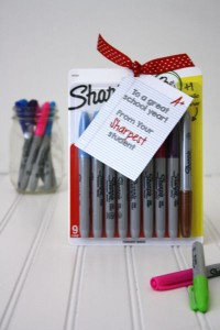 Back to School Teacher Gift under $5- Sharpies