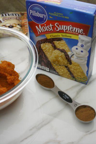 Pillsbury Yellow Cake Mix With Pumpkin