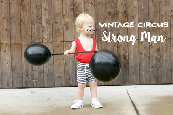 Vintage Circus Strong Man Costume // Life Anchored