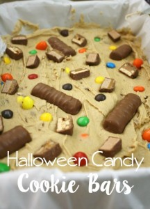 Halloween Candy Cookie Bars & A Boo Package