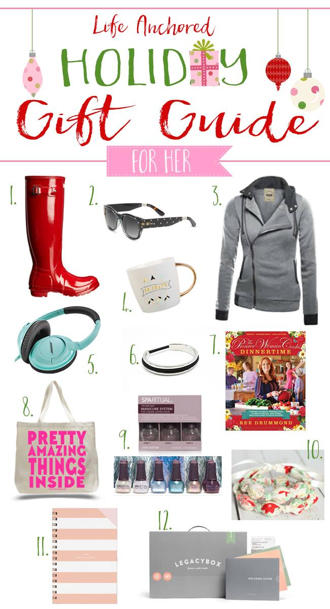 2015 Life Anchored Holiday Gift Guide for Her
