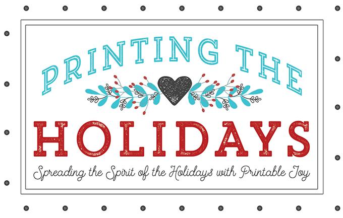 Printing the Holidays Blog Hop