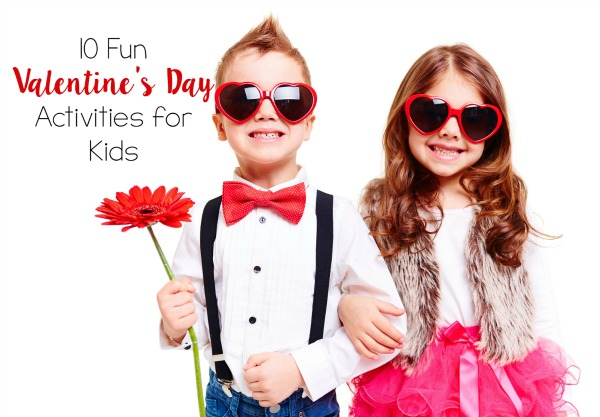 10 Fun Valentine's Day Activities for Kids // Life Anchored