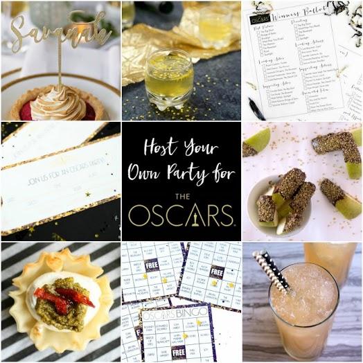 Oscar Party Ideas // Life Anchored