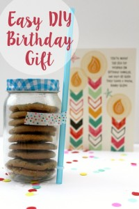 Easy DIY Birthday Gift and a Musical Moment