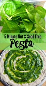 5 Minute Nut Free Pesto