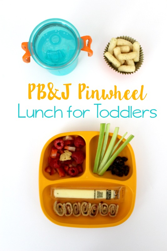 PB&J Pinwheel Lunch for toddlers // Life Anchored AD #GerberLilBeanies