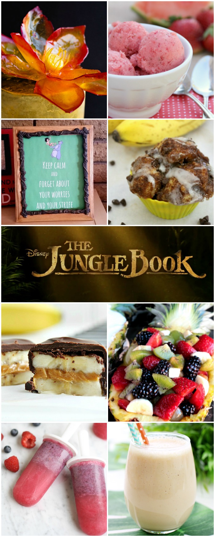 The Jungle Book Movie Inspired Recipes and Crafts