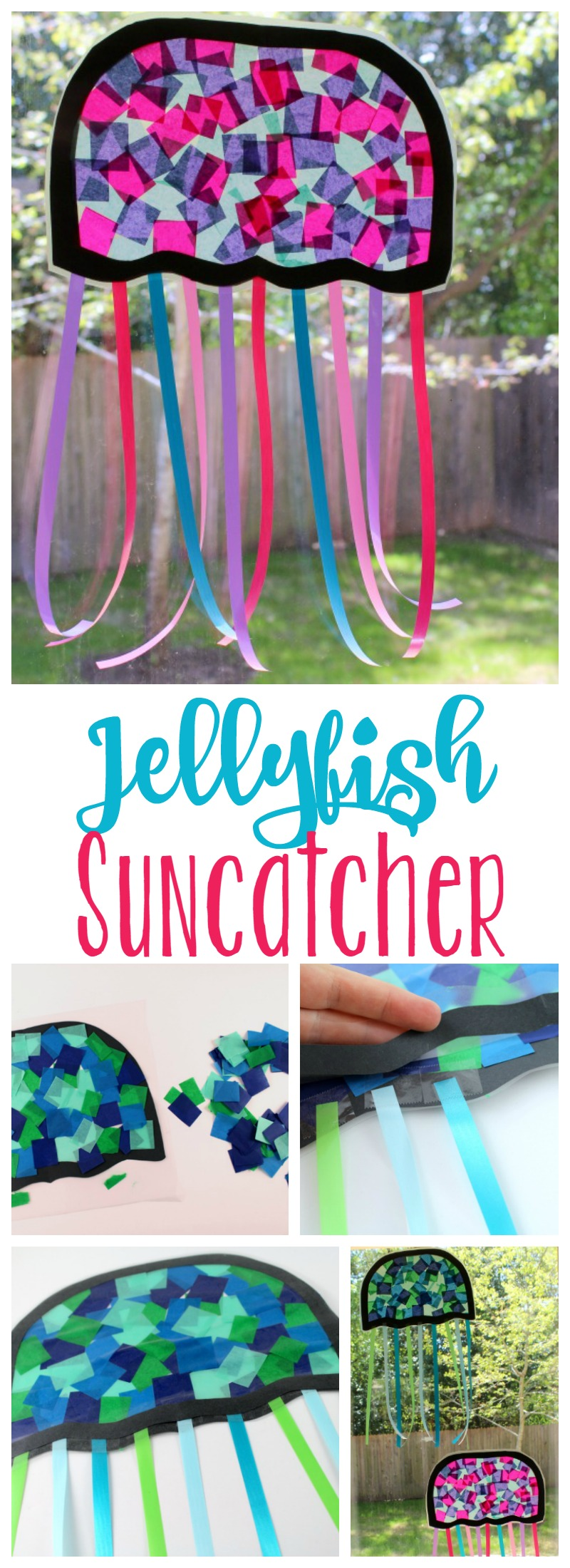 Jellysifh Suncatcher // Life Anchored