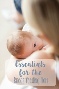 Essentials for the Breastfeeding Mom