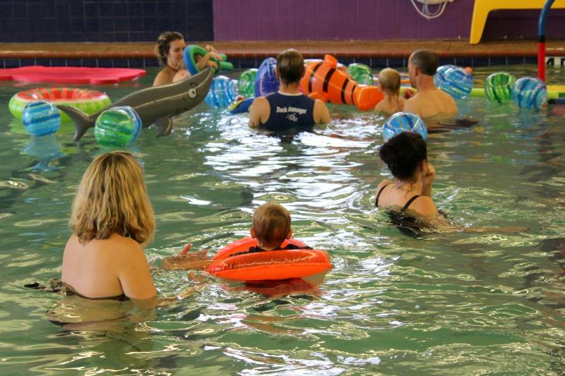 Toddler Swim Pool Party