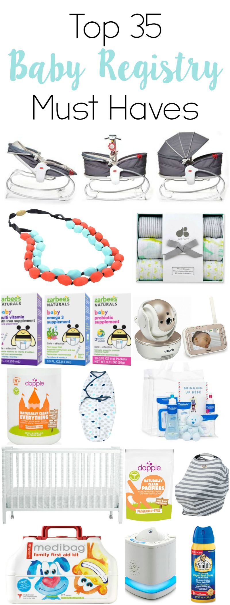 Top 35 Baby Registry Must Haves // Life Anchored ad