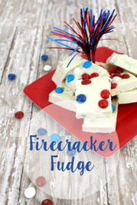 Patriotic Firecracker Fudge