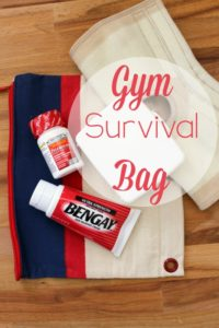 Mom's Gym Survival Bag
