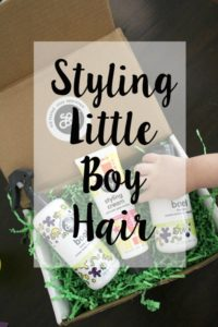 Styling Little Boy Hair