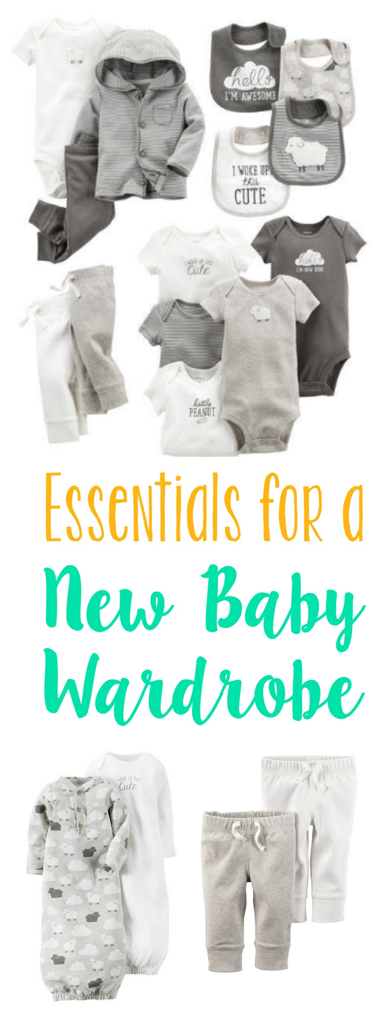 New Baby Wardrobe Essentials // Life Anchored AD