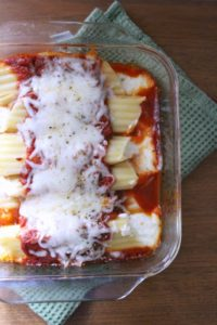 Easy Manicotti Dinner