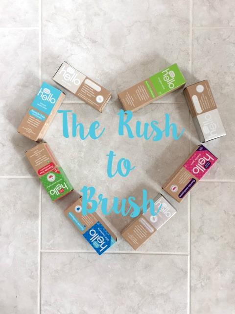 Rush to Brush // Life Anchored #brushhappy AD