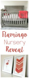 Flamingo Nursery Reveal