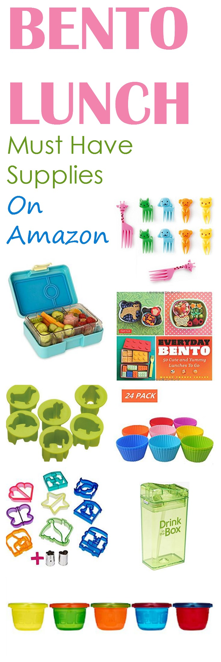 STOP right now and check out these Benton Lunch supplies on Amazon