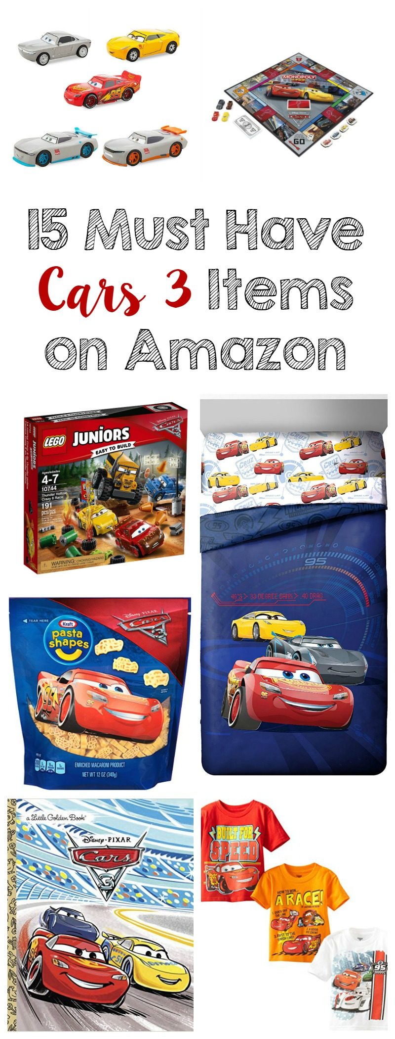 15 Must Have Cars 3 Items on Amazon // Life Anchored ad