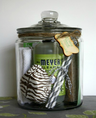 diy housewarming gift welcome jar