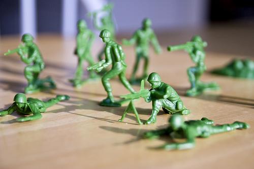 green army men