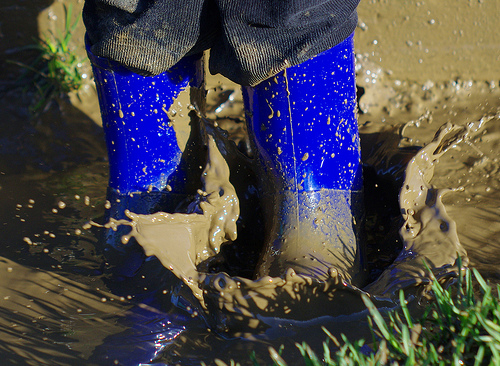muddle puddles and boots