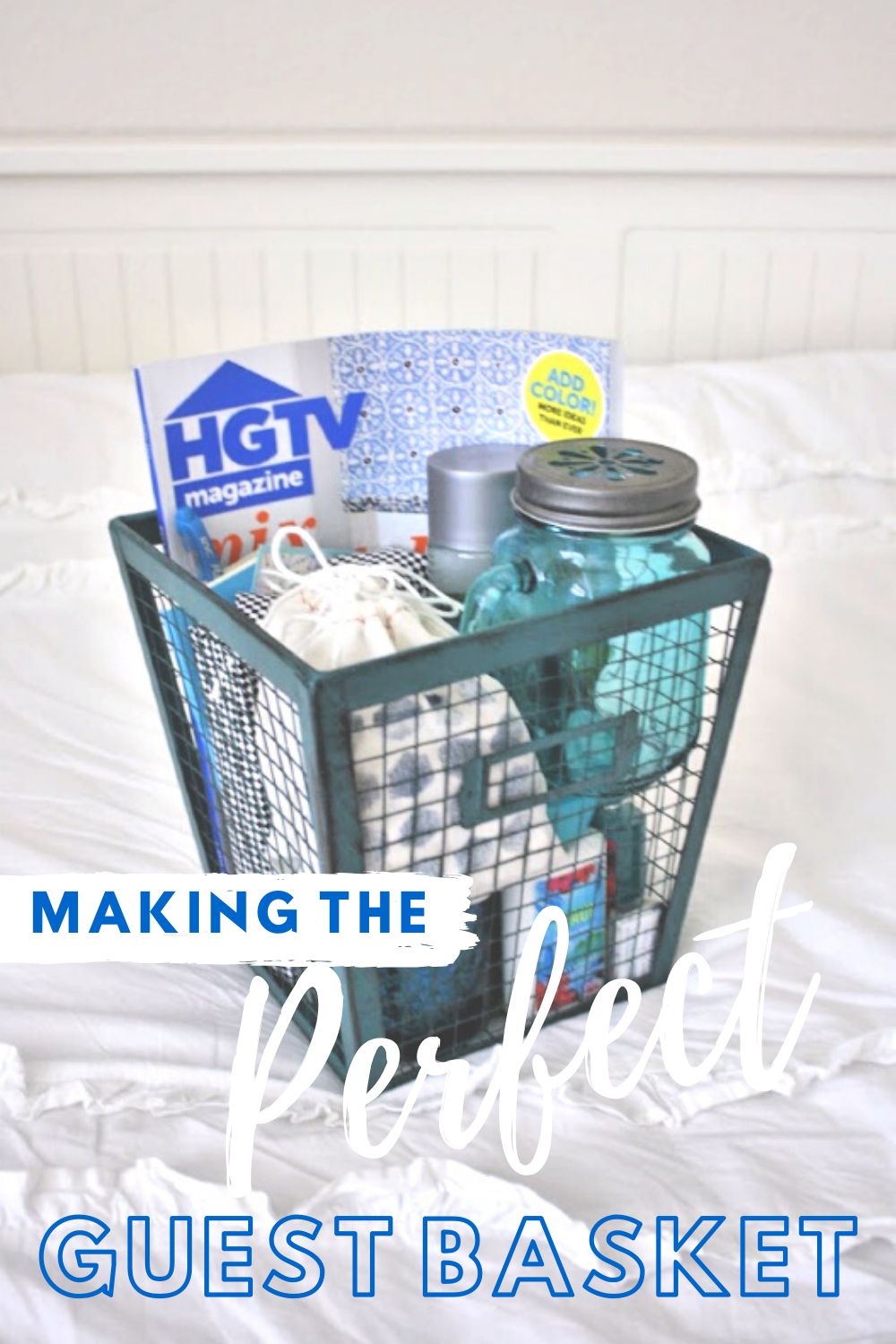 Putting Together A Perfect Guest Basket // Life Anchored