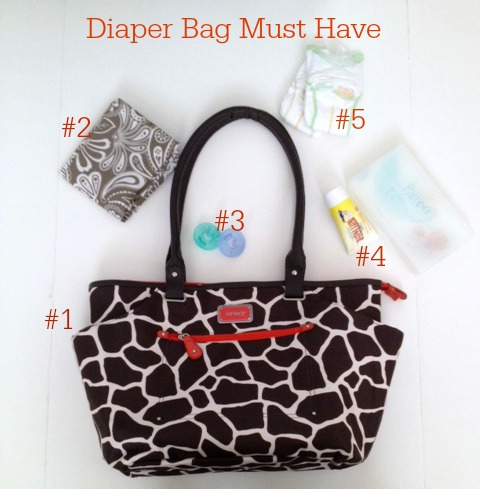 diaper bag must have