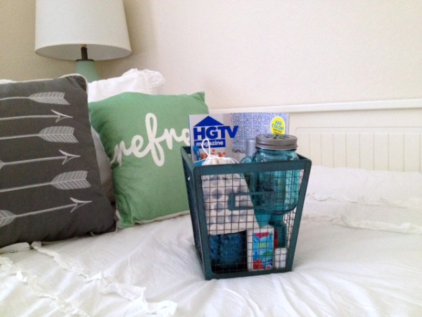 guest basket diy