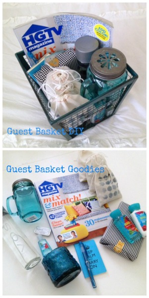 pinterest guest basket