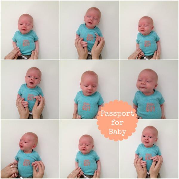 passport for baby
