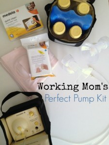 pumping kit for the working mom