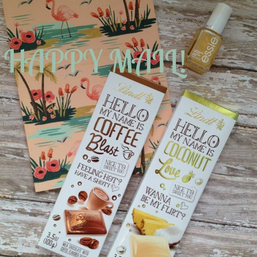 lindt hello happy mail