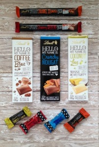lindt hello chocolate bars
