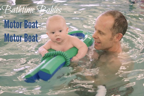 Emler Bathtime Babies motor boats