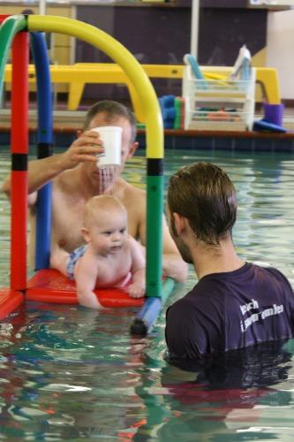 Emler bathtime babies class