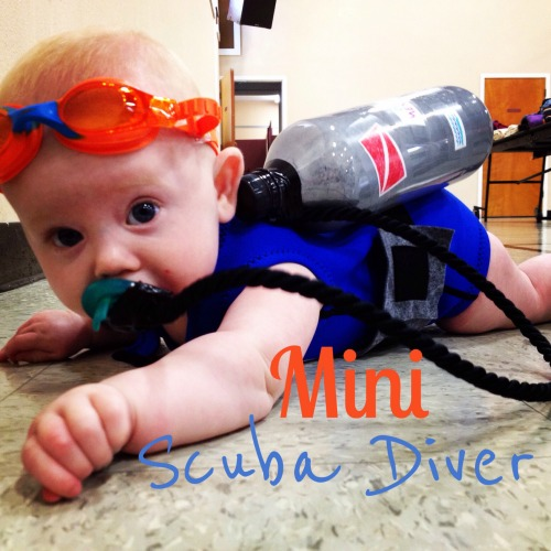 mini scuba diver diy costume