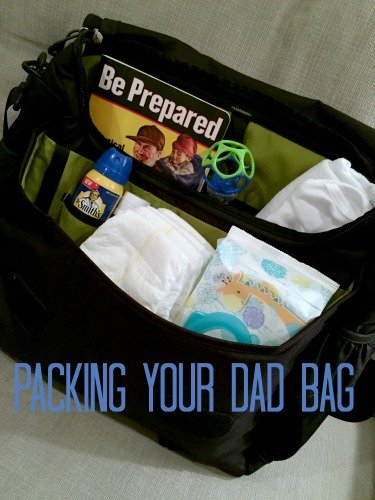 Dad advice diaper bag