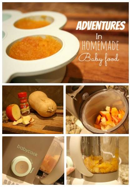 Homemade Baby food tutorial