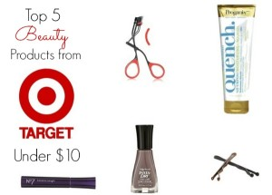 target beauty products under $10