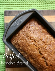 The Perfect Banana Bread // Life Anchored